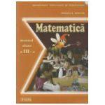 Matematica. Manual pentru clasa a III-a