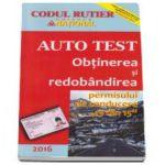 Obtinerea si redobandirea permisului de conducere 13 din 15 (Auto Test 2016)