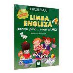 Limba Engleza pentru pitici... mari si Mici - Cu autocolante reutilizabile