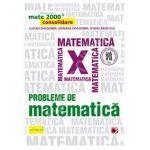Probleme de matematica pentru clasa a X-a. Consolidare