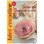 Broşe din materiale textile - Idei creative 81