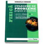 FIZICA - CULEGERE DE PROBLEME propuse si rezolvate pentru clasa a IX-a si examenul de BACALAUREAT