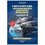 Chestionare Categoria B 2015 - Legislatie rutiera si intrebari de mecanica (contine CD)