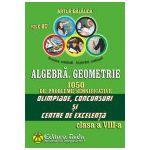 Algebra, Geometrie. 1050 de probleme semnificative Olimpiade, concursuri si centre de excelenta. Clasa a VIII-a