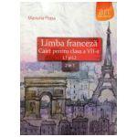 Limba franceza caiet pentru clasa a VII-a L1 si L2, 2 in 1