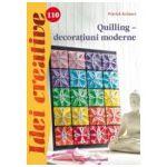 Quilling, decoratiuni moderne
