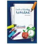 Limba si literatura romana, caiet de vacanta pentru clasa a VII-a