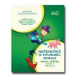 Matematica si explorarea mediului manual pentru clasa I partea I + CD