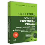 Codul penal si Codul de procedura penala: septembrie 2020 Editie tiparita pe hartie alba