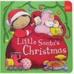 Little Santas Christmas Board book