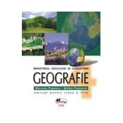 Geografie – manual, clasa a IV-a
