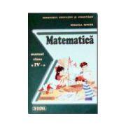 Matematica. Manual pentru clasa a IV-a. Mihaela Singer