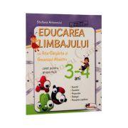 Educarea limbajului - Caiet pentru grupa mica 3-4 ani