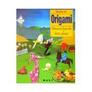 Origami. Minunate figuri din hartie plisata