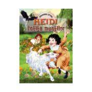Heidi, fetita muntilor (cartonata)
