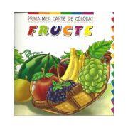 Prima mea carte de colorat - Fructe