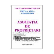Asociatia de proprietari - 4 martie 2016