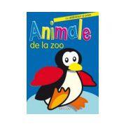 Animale de la zoo. Cu abtibilduri si poze