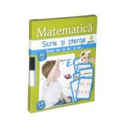 Scrie si sterge-Matematica 5-6 ani