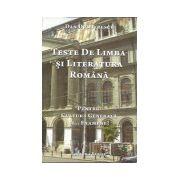 Teste de Limba si Literatura Romana. Pentru cultura generala si... Examene!