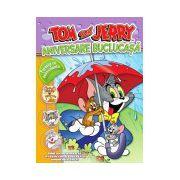 Tom şi Jerry. ANIVERSARE BUCLUCAŞĂ. Poveste cu autocolante