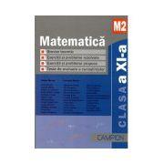 Matematica, M2. Culegere de probleme pentru clasa a XI-a - BURTEA