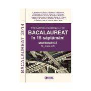 Pregatirea examenului de BACALAUREAT 2014 in 15 de saptamani. Matematica. M_mate-info