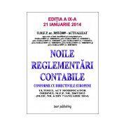 Noile reglementari contabile A4 - editia a IX-a - 21 ianuarie 2014