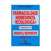 Farmacologie homeopata vol..2 - Aparatul respirator