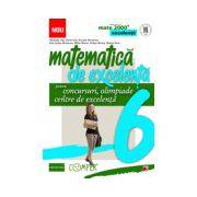 Matematica de excelenta pentru concursuri, olimpiade si centrele de excelenta. Clasa a VI-a