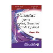 Matematica pentru Olimpiade, concursuri si centre de excelenta, pentru clasa a XI-a