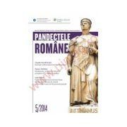 Pandectele Romane nr. 5/2014