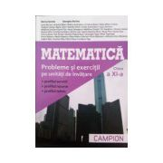 Matematica - Probleme si exercitii pe unitati de invatare, clasa a XI-a