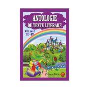 Antologie de texte literare, clasele III-IV