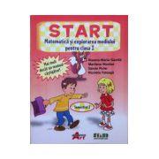START. Matematica si explorarea mediului pentru clasa I. Sem. 1