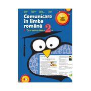 Comunicare în limba română. Teste pentru clasa a II-a