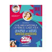 EVALUAREA NATIONALA 2016 LA FINALUL CLASEI A II-A. SCRIS-CITIT. MATEMATICA