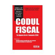 Codul fiscal. In vigoare de la 1 ianuarie 2016