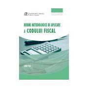 Norme metodologice de aplicare a Codului fiscal