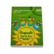 Geografie caiet de lucru pentru clasa a IV-a semestrul I