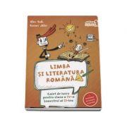 Limba si literatura romana, caiet de lucru conform programei pentru clasa a IV-a Semestrul aI II-lea. Contine portofoliul de evaluare al elevului