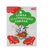 Limba si literatura romana, manual pentru clasa a IV-a. Semestrul al II-lea - Contine CD