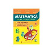 Matematică pentru clasele III-IV