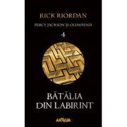 Percy Jackson şi Olimpienii Vol 4. Bătălia din Labirint