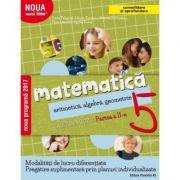 Matematică. Aritmetică, algebră, geometrie. Caiet de lucru. Clasa a 5-a. Partea a II-a. Consolidare