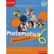Matematică. Algebră, geometrie. Caiet de lucru. Clasa a 6-a. Consolidare. Partea I