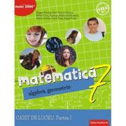 Matematică. Algebră, geometrie. Caiet de lucru. Clasa a 7-a. Consolidare. Partea I