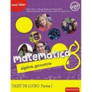 Matematică. Algebră, geometrie. Caiet de lucru. Clasa a 8-a. Consolidare. Partea I