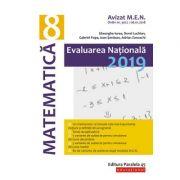 Matematică. Evaluare Naţională 2019. Clasa a VIII-a