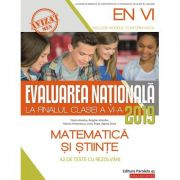 Evaluarea Națională 2019 la finalul clasei a VI-a. Matematică și Științe